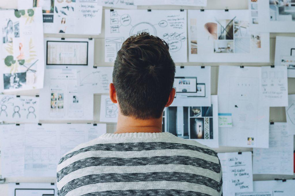 A gestão de ideias é parte de um processo da gestão da inovação. Crédito: Pexels
